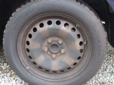 "FORD  FOCUS  MK 3   STEEL WHEEL  16""   WHEEL INC TYRE  2005 - 2009 (1)"